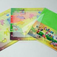 Kertas Lipat Origami Asturo Bintang Pelajar Lebih Besar 10 Warna