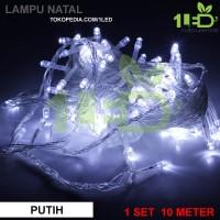 Jual Lampu Natal LED Putih Twinkle Light hias pohon Christmas Murah