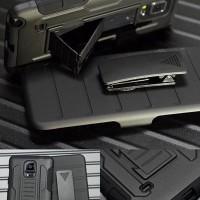 Holster Future Armor Samsung Galaxy Note 3 4 5 Hard Case Spigen Ringke
