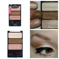 WET & WILD Color Icon Trio Eyeshadow - Walking On Eggshells