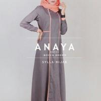 harga Anaya Dress/ Gamis Katun/ Dress Katun/ Baju Muslim/ Gamis Simple Tokopedia.com
