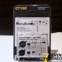 Behringer Ct100 Cable Tester [ Ct 100 ]