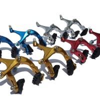 harga U Brake Fixie Alloy / Rem Sepeda Fixie 700 / Brake set Sepeda Balap Tokopedia.com