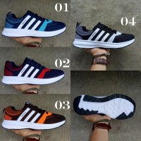 #513 Sepatu Cowok Adidas Neo Flyknit Import Vietnam