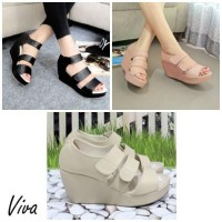 Sepatu Fashion / 3 Strap T 9cm BL-1011 Casual  