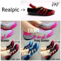 Sepatu Import / Wedges Heels Flatshoes Boot Kets Sport FS Replika