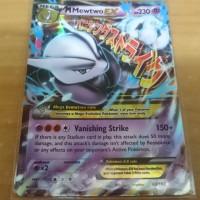 Jual Kartu Pokemon Original M Mewtwo X EX Breakthrough Murah