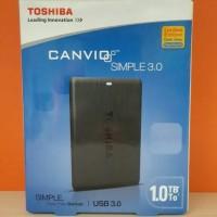 TOSHIBA CANVIO SIMPLE EXTERNAL HDD 1TB USB 3.0 / EXT HDD 1TB