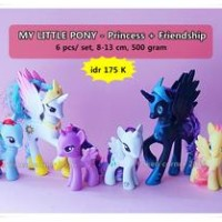 Figure My Little Pony - Princess Dan Amp; Friendship