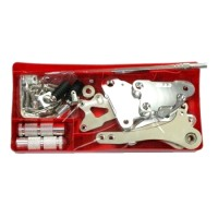 FOOTSTEP FOOT STEP UNDERBONE CB150R SILVER MERK BAD