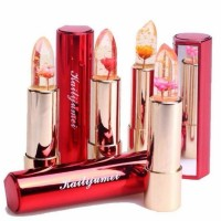(Lipstik Bunga Gold 24k Ori) Kailijumei Flower Jelly Lipstick 'sks'