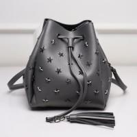 20312 Gray Sale Promo Tas Serut Pouch Bags Import