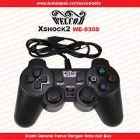 GAMEPAD SINGLE GETAR WELCOM / JOYSTICK USB / STICK KOMPUTER