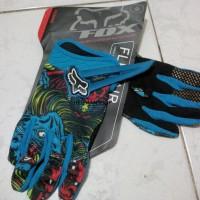 Sarung Tangan Fox Platinum Skull ( Gloves FOX SKULL ) F Berkualitas