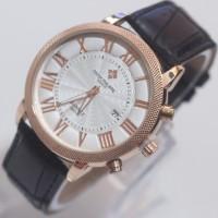 Jam Tangan Patex Philippe Date Leather (Men) Berkualitas