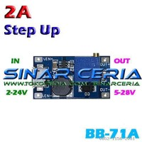Step Up Micro USB Adjustable 2A In 2-24v Out 5-28v DC Booster Power
