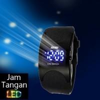 Jual Jam Tangan LED Wanita Oeklay SKMEI Dark Razor 0951 Murah