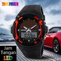 Jual Jam Tangan Digital Pria Oeklay SKMEI Bizzare Hitam Limited