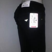 Jual Celana Jeans Prada skinny/slimfit/pensil wanita Hitam , size 27 - 30 Murah