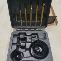 Krisbow Hole Saw & Saw Drill Set 17pcs