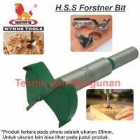 HSS Forstner Bit / Hole Saw Kayu Wynn's 35mm (W3725-35)