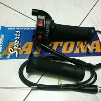 harga gas spontan daytona 2 tombol engine on/of + tombol stater Tokopedia.com