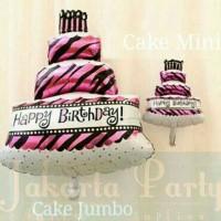 Balon Foil Cake 80 Cm