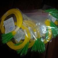 Fiber Optik Pigtail SC APC SM 2,00 mm SM Simplex LSZH panjang 1,5 mete