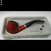 harga pipa cangklong tembakau haujuoe HG-702B filter rokok Tokopedia.com
