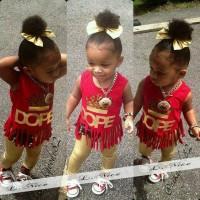 pakaian anak perempuan / L255 baju setelan kaos tanktop leging baby