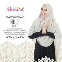Jilbab Instan Cantik Munira MD13 Warna Khaki