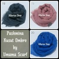 Pashmina Wrinkle Ombre Plain By Umama (3)