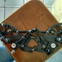 Underbone / Underbun / Footstep Racing NUI MONSTER Ninja 250 Black