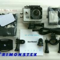 Kamera Go Pro / Sport Cam / Action Camera (Non Wi-Fi) HD 12mp 1080P