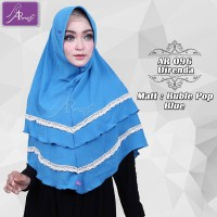 AR 096 Jilbab Ar Rafi Hijab ArRafi - Bergo Instan - Matt Buble Import
