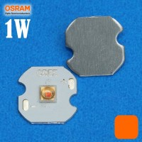harga Lampu Led Cree Osram Oslon 1 Watt Amber / Orange Tua Emitter 12mm Pcb Tokopedia.com
