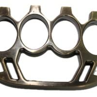 Halona Brass Knuckle - Kuning Hitam