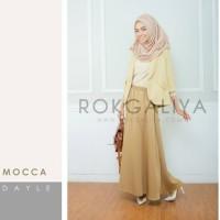 Rok Panjang Dayle Skirt Mocca size S-M