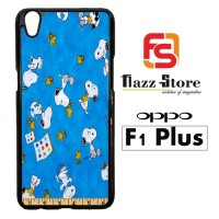 Snoopy Ruler V 2111 Casing HP Oppo F1 Plus Custom Case Cover