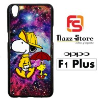 Snoopy Walk On Galaxy V 2112 Casing HP Oppo F1 Plus Custom Case Cover