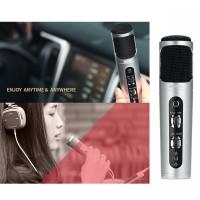 harga Multi Singing Karaoke Microphone Mic Noise Cancelling Ios Android Pc Tokopedia.com