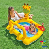 INTEX Kolam Renang Pompa Anak / Bayi | Smiley Giraffe Baby Pool