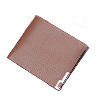 Thin Classic Leather Wallet Men/Dompet Kulit Pria Polos/Dompet Pria
