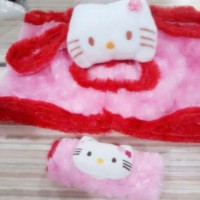 Sarung Magic Com Rice Cooker Hello Kitty