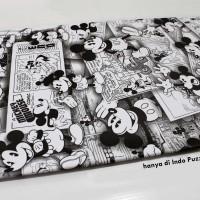 Kertas Kado Disney / Mickey Mouse / Hitam Putih / Sansan Wawa / Sanwa