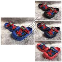 Jual (GARANSI TERMURAH) Sandal Anak Cowok Crocs Spiderman Clog Original Murah