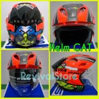 harga Helm CAT Rossi / helm murah / helm half face Tokopedia.com