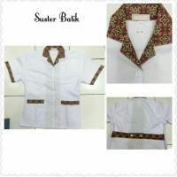 Jual Setelan Baju Suster Batik Murah