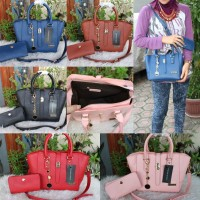 CK LIDAH BEHEL SET DOMPET / TAS CK / TAS CHARLES AND KEITH