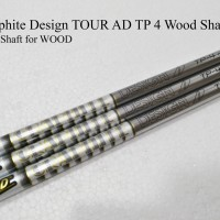 "Golf Shaft: Graphite Design TOUR AD TP 4 Wood Shaft .335"" Tip"